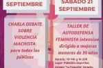 Ampliar información de Charla debate sobre violencia machista.