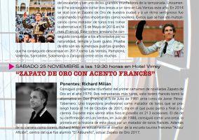 Ampliar información de Richard Milian: Zapato de Oro con acento francés.