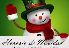 Ampliar información de Horario especial de Navidad en la Biblioteca