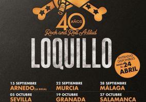 Ampliar información de Loquillo arrancará su gira 40 aniversario en Arnedo el próximo 15 de septiembre