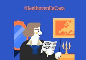 Ampliar información de Beethoven en casa. Celebra el día de Europa