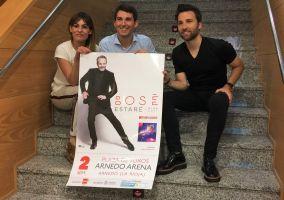 Ampliar información de Se ha presentado el concierto de Miguel Bosé en Arnedo