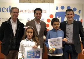 Ampliar información de Dos escolares arnedanos premiados en el Concurso de Dibujo de Aqualia