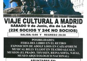 Ampliar información de Sendero organiza un viaje cultural a Madrid.