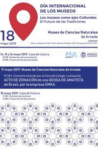 Ampliar información de Día de los museos 2019: Concierto y acto de donación.