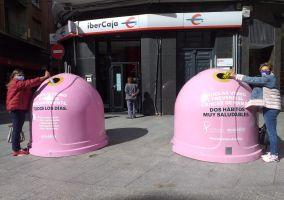 Ampliar información de Ecovidrio y el Ayuntamiento de Arnedo ponen en marcha la campaña solidaria 'Recicla Vidrio por ellas' con motivo del Día Mundial del Cáncer de Mama