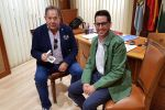 Ampliar información de El Alcalde de Arnedo recibe a Basilio García, nombrado Riojano Ilustre 2019 por el Gobierno de La Rioja