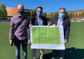 Ampliar información de La renovación del césped artificial del campo anexo de fútbol 11 se realizará en 2022.