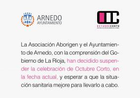 Ampliar información de Se suspende la celebración del Festival de Cine Octubre Corto en la fecha actual.