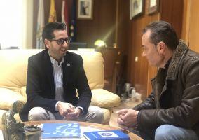 Ampliar información de Encuentro bilateral entre el Alcalde, Javier García, y el Portavoz del PP, Antonio Eguizábal