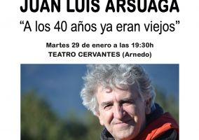 Ampliar información de Juan Luis Arsuaga: A los cuarenta años ya eran viejos.