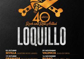 Ampliar información de La Gira 40 aniversario de Loquillo, Rock and Roll Actitud, se traslada al 3 de noviembre