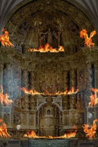 Ampliar información de Videomapping Retablo San Cosme y San Damián