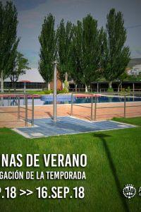 Ampliar información de La temporada de piscinas se prolonga hasta el 16 de septiembre