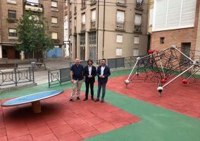 Ampliar información de Finalizan las obras del  Parque San José