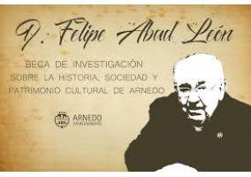Ampliar información de  Ultimos días de presentación de trabajos a la Convocatoria del II Premio de investigación Felipe Abad León sobre la historia, la sociedad y el patrimonio cultural de Arnedo 2018.