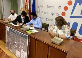 Ampliar información de El Gobierno de La Rioja y el Ayuntamiento de Arnedo firman el convenio de colaboración para financiar las obras de los Accesos Norte de la ciudad