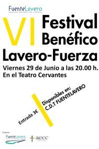 Ampliar información de VI Festival Benéfico Lavero-Fuerza