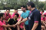 Ampliar información de El Alcalde participa en la presentación del Club Deportivo Arnedo para la próxima temporada.