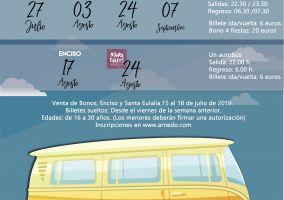 Ampliar información de Autobús SANTA EULALIA 22:00 h. - 6:00 h.