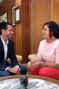 Ampliar información de La Presidenta del Gobierno, Concha Andreu, visita Arnedo.