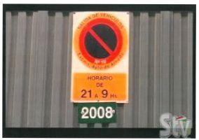 Ampliar información de REtirada de placas anuales de Vado 2021