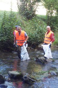 Ampliar información de Limpieza de un tramo del Río Cidacos