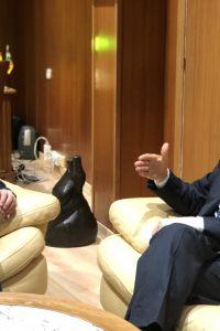 Ampliar información de Abel Caballero, Presidente de la FEMP, visita Arnedo.