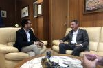 Ampliar información de El Alcalde mantiene un encuentro con el Presidente de FICE, José Monzonís Salvia.
