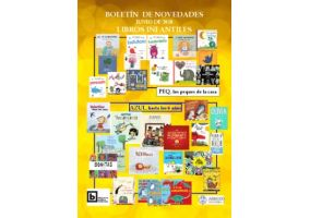 Ampliar información de Boletín novedades libros infantiles junio 2018