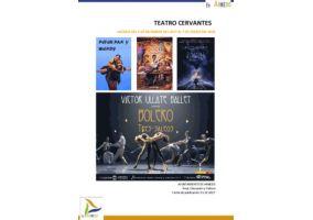 Ampliar información de Programa Teatro Cervantes del 3 de diciembre de 2017 al 7 de enero de 2018