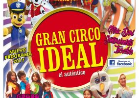 Ampliar información de Gran Circo Ideal 17:00 h.