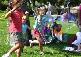 Ampliar información de Burbujas de jabón