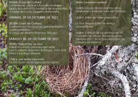 """Ampliar información de XXXII semana Cultural en torno a las Ciencias Naturales. Conferencia: """"Las especias que cambiaron nuestro hábitos""""."""
