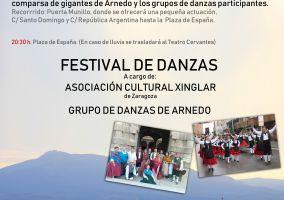 Ampliar información de Traslado del Festival de danzas del Día de La Rioja al Teatro Cervantes.