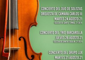 Ampliar información de El martes se inicia el programa de conciertos: Música en las iglesias.