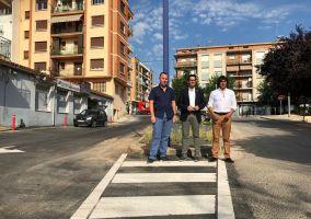 Ampliar información de Presentadas las obras realizadas en la Calle San Blas