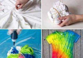 Ampliar información de Camisetas teñidas