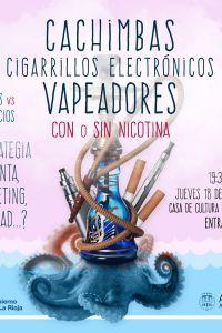 Ampliar información de Cachimbas, cigarrillos electrónicos, vapeadores...