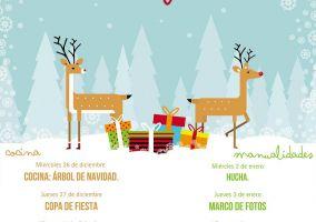 Ampliar información de Talleres de Navidad en el Centro Joven