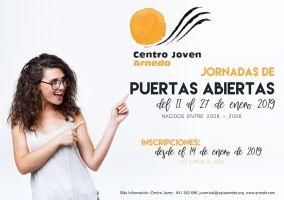 Ampliar información de Carné del Centro Joven y jornadas de puertas abiertas para jóvenes nacidos entre 2006 y 2008