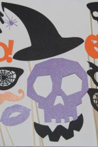 Ampliar información de Photocall de Halloween