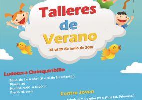 Ampliar información de Talleres de verano 1º a 3º de primaria