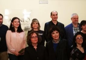 Ampliar información de Celia Calvo, Premio Ateneo Riojano 2018.