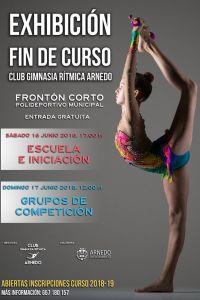 Ampliar información de Exhibición Fin de Curso del Club Gimnasia Rítmica Arnedo - Escuela e Iniciación