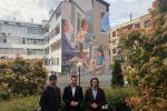 Ampliar información de Finalizado el mural en las calles Este y San Blas