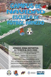 Ampliar información de Campus de Navidad. Escuela de Fútbol Arnedo