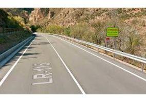 Ampliar información de Cortes puntuales de la carretera LR-115 a la altura de Arnedillo