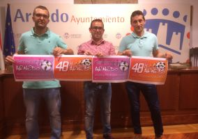 Ampliar información de Presentados los torneos de fútbol sala femenino y Maratón 48h