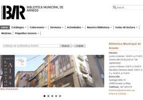 Ampliar información de Presentada la nueva web de la biblioteca